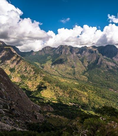 Slopes Of Mount Mulanje Malawi