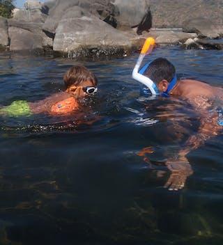 Snorkelling In Lake Malawi