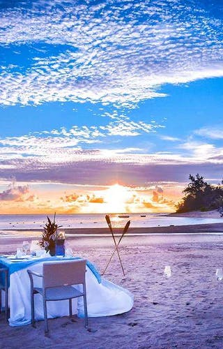 Sofitel So Mauritius Sunset Meal