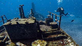 St Helena Wreck Diving