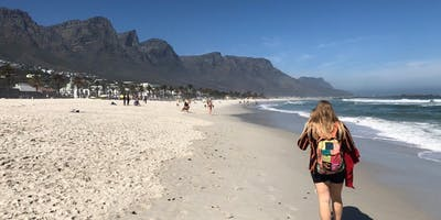 Strolling The Sands At Camps Bay