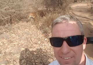 Stus Tiger Selfie