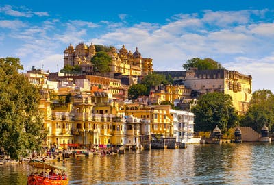 Sunny Day In Udaipur