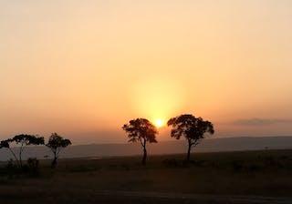 Sunset At Il Moran