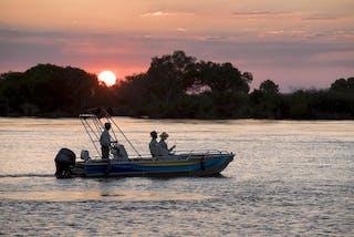 Sunset Boat Cruise On The Zambezi Thorntree River Lodge