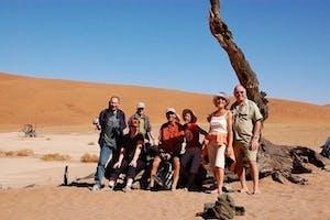 Sunway  Namibia  Sossusvlei Safari Group Photo