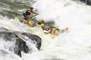 Sunway  Zambia River Rafting With  Safpar On The  Zambezi