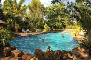 Swimming Pool Musangano Lodge