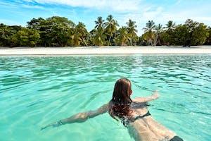 Swimming At Nosy Iranja