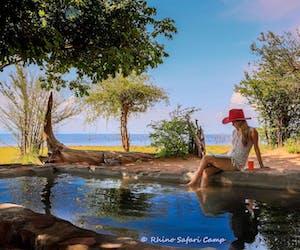 Swimming Pool  Rhino  Safari  Camp