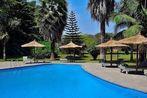Swimming Pool At  Arumeru  River  Lodge