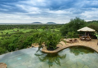 Swimming Pool View At Ol Donyo Lodge