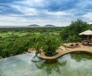 Swimming Pool View At Ol Donyo Lodge