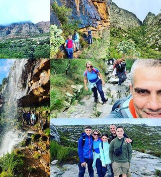Table Mountain Collage