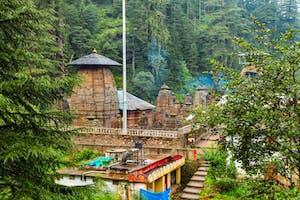 Temple At  Jageshwar