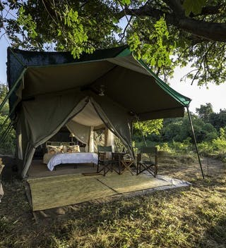 Tent Exterior  Johns Camp