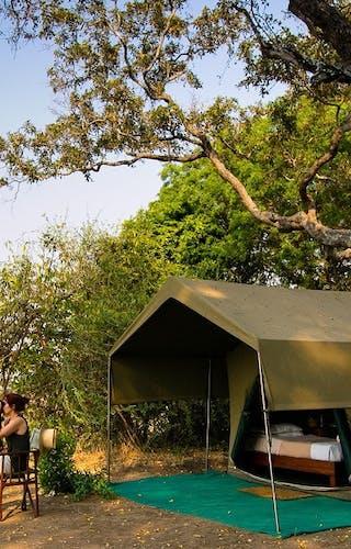 Tent Exterior Mahove Tented Camp