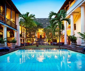 The Pool Area At The Galle Fort Hotel