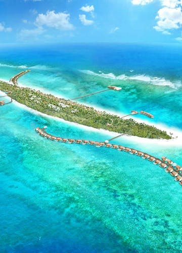 The Residence Maldives Aerial