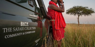 The Safari Collection Looking Out For Lion With Th Conservation Car At Salas Camp