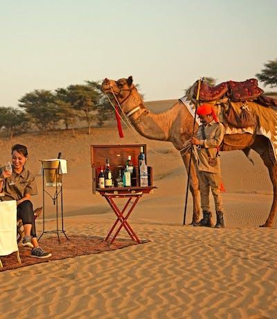 The Serai Jaisalmer Drinks In The Desert