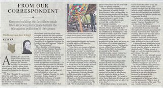 The Times Flipflopi Article