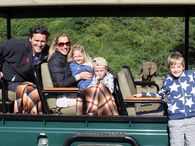 The Family On Safari