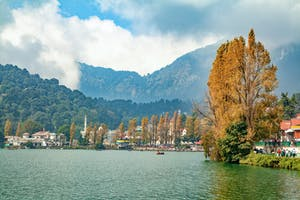 The Lake At  Bhimtal