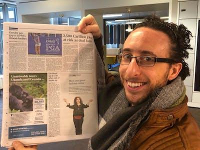 Times Ad Uganda Rwanda Tour With Craig