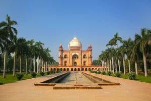 Tomb Of The  Emperor  Safdarjung In  Delhi
