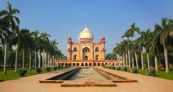 Tomb Of The Emperor Safdarjung In Delhi