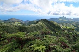 Top Of Dianas Peak On St Helena