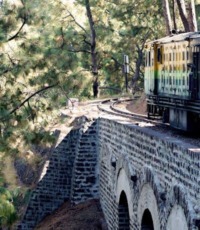 Toy Train Bridge