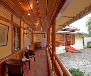 Tripura Castle Verandah