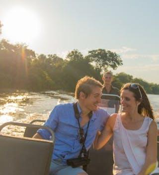Try A Boat Safari From  Mkulumadzi Lodge