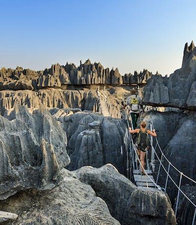 Tsingy Rock Spires
