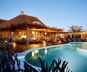 Tswalu Motse Pool Deck