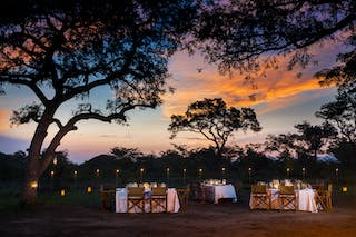 Ulusaba Bush Dinner