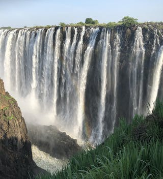 Victoria Falls On The Rise In January