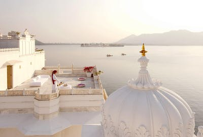 View From Taj Lake Palace