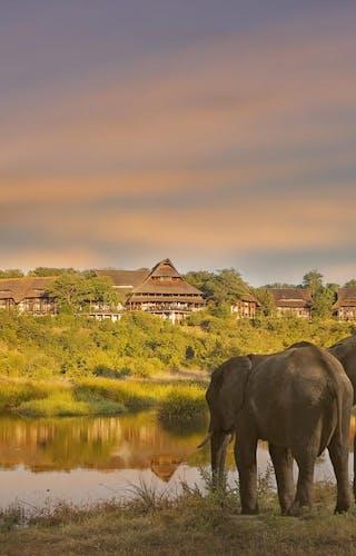 View Of Victoria Falls Safari Lodge