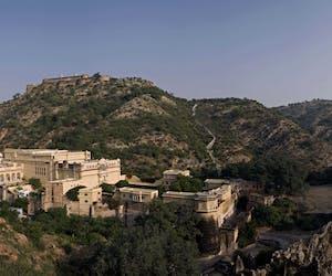 View Of Samode Palace