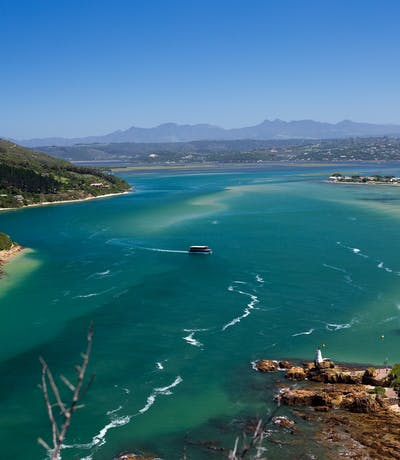 Views Across Knysna Lagoon