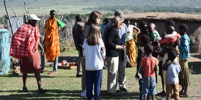 Visiting A Maasai Village Near Saruni Mara