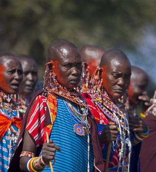 Warriors At The Maasai Olympics