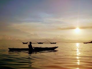 Watching The Singing Fishermen On Lake Kivu