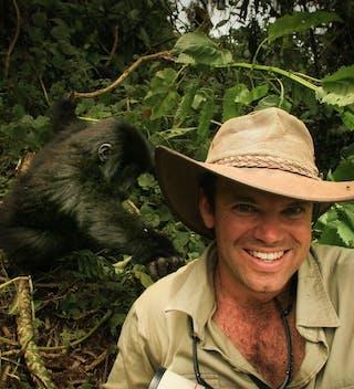 Wayo  Jean With  Gorilla