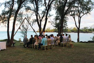 Wedding Ceremony On Ile Aux Cerfs At Four Seasons Mauritius