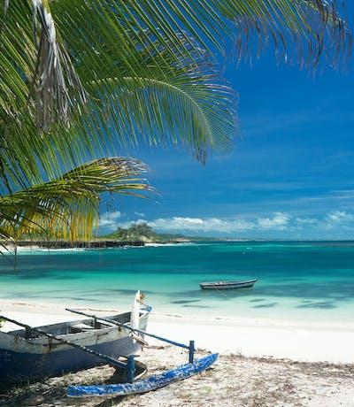 Whitesand Beach In Madagascar