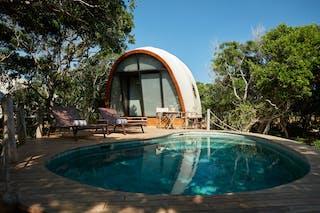 Wild  Coast  Tented  Lodge  Pool  Suite